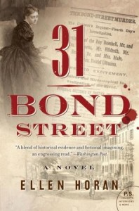 Book Review: 31 Bond Street by Ellen Horan