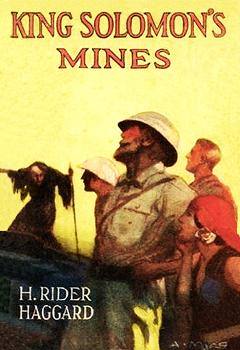 Image result for king solomon's mines book cover