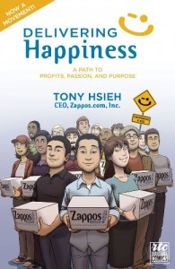 Review: Delivering Happiness: A Path to Profits, Passion, and Purpose; A Round Table Comic