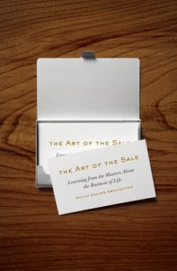 Book Review: The Art of the Sale by Philip Delves Broughton