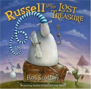 Kid's Book Review: Russel and the Lost Treasure by Rob Scotton
