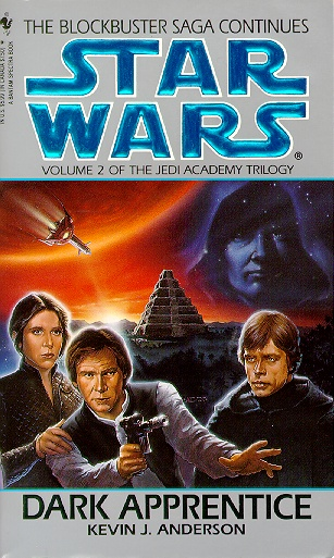 Book Review The Jedi Academy Trilogy II Dark Apprentice (Star Wars) by Kevin J. Anderson