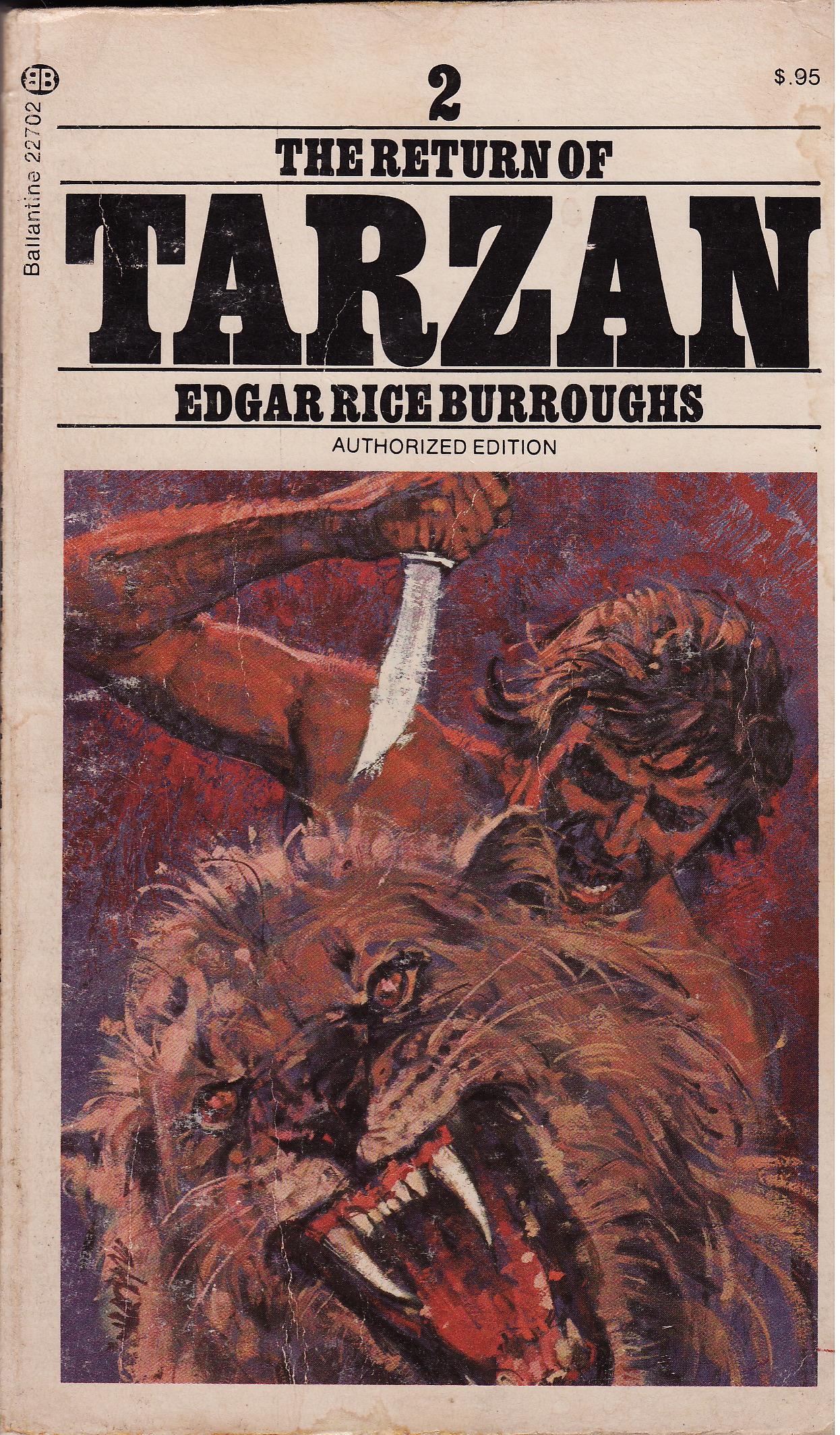 Book Review The Return of Tarzan by Edgar Rice Burroughs