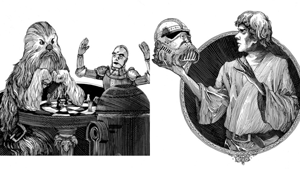 Book Review William Shakespeares Star Wars by Ian Doescher illustrations