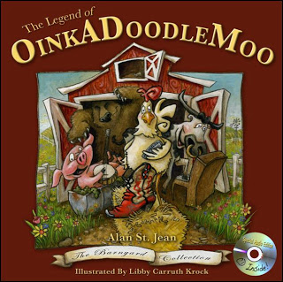 Book Review The Legend of OinkADoodleMoo