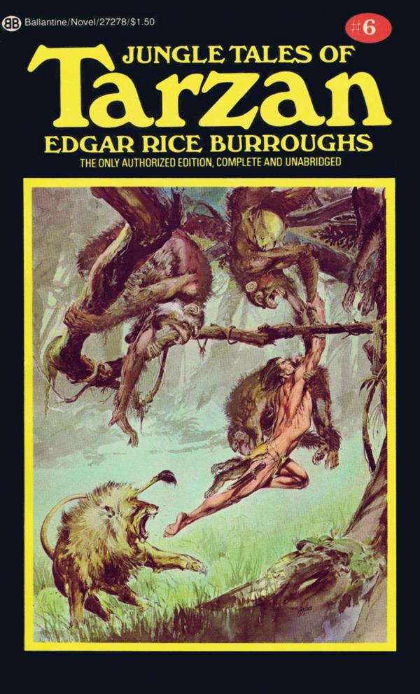 Book Review Jungle Tales of Tarzan by Edgar Rice Burroughs
