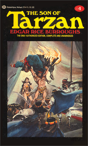 Book Review: The Son of Tarzan by Edgar Rice Burroughs ...