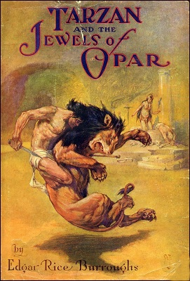 Book Review Tarzan and the Jewels of Opar by Edgar Rice Burroughs