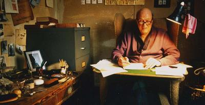 Roald-Dahl-writing
