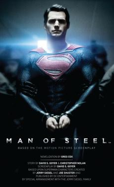Book Review Man of Steel The Official Movie Novelization by Greg Cox