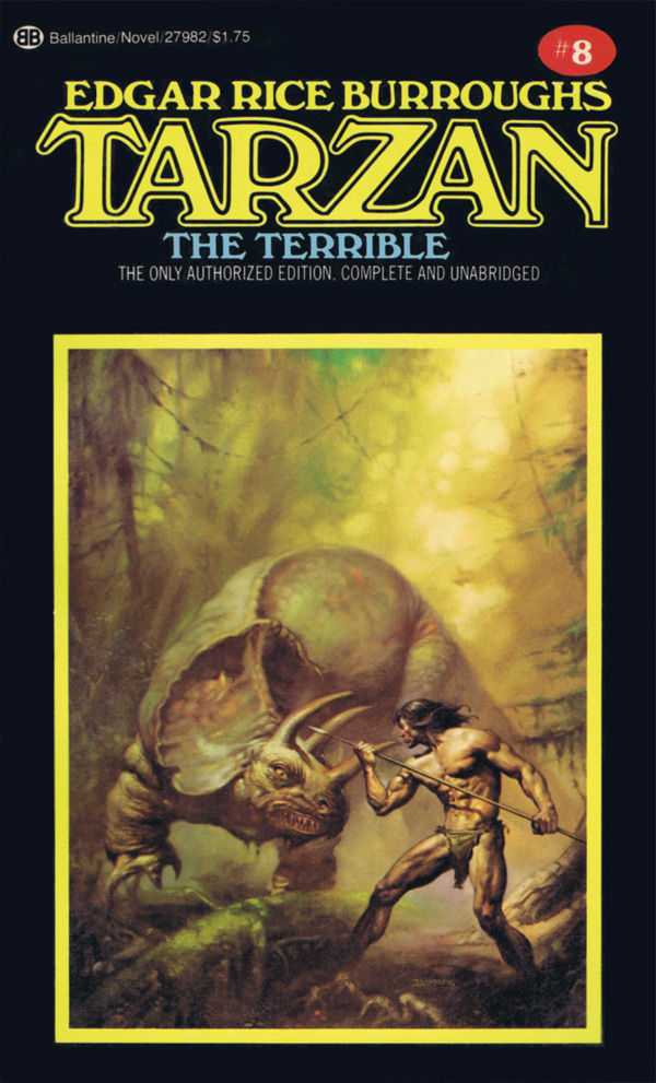 Book Review Tarzan the Terrible by Edgar Rice Burroughs