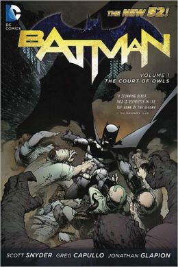 Graphic Novel Review Batman Vol. 1 Court of Owls by Schott Snyder