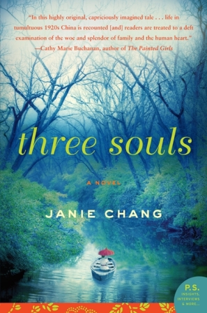 Book Review Three Souls by Janie Chang