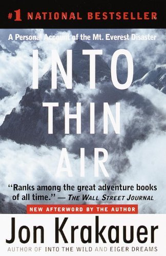 Book Review Into Thin Air by Jon Krakauer