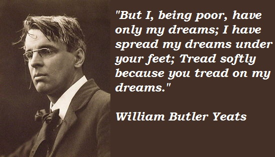Fun Facts Friday William Butler Yeats