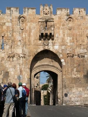 The Lion's Gate in Jerusalem