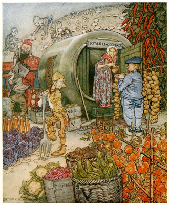 Frontispiece to English FairyTales