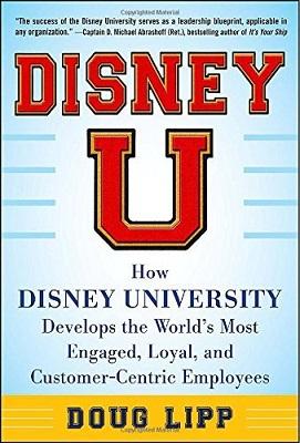 Book Review: Disney U by DougLipp